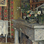 The Mantelpiece (La Cheminee), Edouard Vuillard