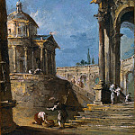 Part 2 National Gallery UK - Francesco Guardi - An Architectural Caprice