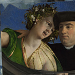 A Man embracing a Woman, Dosso Dossi