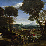 Domenichino – Saint George killing the Dragon, Part 2 National Gallery UK