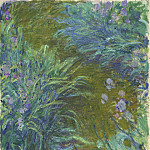 Irises, Claude Oscar Monet