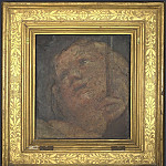 Part 2 National Gallery UK - Correggio - Head of an Angel