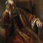 Part 2 National Gallery UK - Follower of Rembrandt - An Old Man in an Armchair