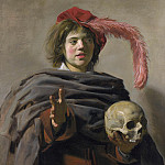 Part 2 National Gallery UK - Frans Hals - Young Man holding a Skull (Vanitas)