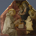 Saint Bernard s Vision of the Virgin, Fra Filippo Lippi