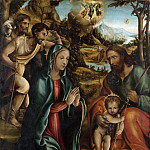 Part 2 National Gallery UK - Follower of Sodoma - The Nativity with the Infant Baptist and Shepherds
