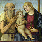 Filippo Mazzola – The Virgin and Child with Saints, Part 2 National Gallery UK