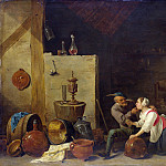Part 2 National Gallery UK - David Teniers the Younger - An Old Peasant caresses a Kitchen Maid in a Stable