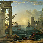 Part 2 National Gallery UK - Claude - Seaport with the Embarkation of the Queen of Sheba
