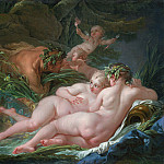 Pan and Syrinx, Francois Boucher
