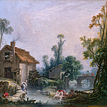 Part 2 National Gallery UK - Francois Boucher - Landscape with a Watermill