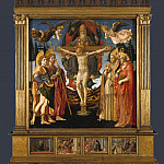 Part 2 National Gallery UK - Francesco Pesellino and Fra Filippo Lippi and workshop - The Pistoia Santa Trinita Altarpiece