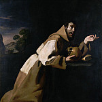 Part 2 National Gallery UK - Francisco de Zurbaran - Saint Francis in Meditation