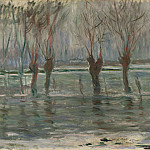 Flood Waters, Claude Oscar Monet