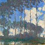 Poplars on the Epte, Claude Oscar Monet
