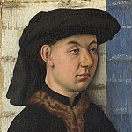 Part 2 National Gallery UK - Follower of Jan van Eyck - A Young Man holding a Ring