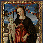 Part 2 National Gallery UK - Fiorenzo di Lorenzo and Italian, Umbrian - The Virgin and Child