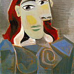 Pablo Picasso (1881-1973) Period of creation: 1931-1942 - 1939 Buste de femme 1