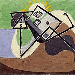 Pablo Picasso (1881-1973) Period of creation: 1931-1942 - 1932 Femme Вtendue au soleil sur la plage II