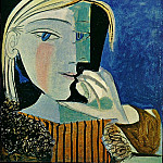 Pablo Picasso (1881-1973) Period of creation: 1931-1942 - 1937 Portrait de Marie-ThВrКse 4
