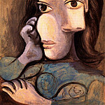 1940 Buste de femme 4, Pablo Picasso (1881-1973) Period of creation: 1931-1942