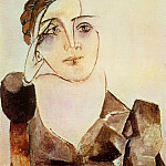 Pablo Picasso (1881-1973) Period of creation: 1931-1942 - 1936 Buste de Dora Maar 2