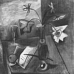 1941 Nature morte 1, Pablo Picasso (1881-1973) Period of creation: 1931-1942