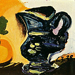 1938 Nature morte au pichet, Pablo Picasso (1881-1973) Period of creation: 1931-1942