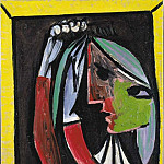 Pablo Picasso (1881-1973) Period of creation: 1931-1942 - 1935 Femme se coiffant
