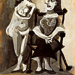 1939 Nu debout et femme assise 1, Pablo Picasso (1881-1973) Period of creation: 1931-1942