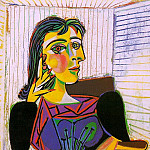 1937 Portrait de Dora Maar 5, Pablo Picasso (1881-1973) Period of creation: 1931-1942