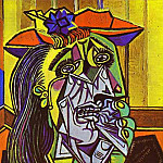 1937 La Femme qui pleure 12, Pablo Picasso (1881-1973) Period of creation: 1931-1942