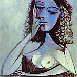 1938 Nusch Eluard, Pablo Picasso (1881-1973) Period of creation: 1931-1942