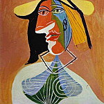 1938 Portrait de femme 1, Pablo Picasso (1881-1973) Period of creation: 1931-1942