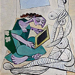 Pablo Picasso (1881-1973) Period of creation: 1931-1942 - 1936 Femme dans un intВrieur. JPG