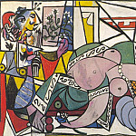 1934 Latelier , Pablo Picasso (1881-1973) Period of creation: 1931-1942