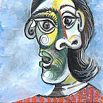 1939 Portrait de Dora Maar 4, Pablo Picasso (1881-1973) Period of creation: 1931-1942