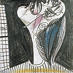 1937 La femme qui pleure 2, Pablo Picasso (1881-1973) Period of creation: 1931-1942