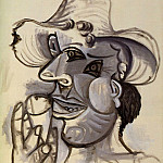 1938 Homme au cornet de glace 1, Pablo Picasso (1881-1973) Period of creation: 1931-1942