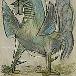 1938 Le coq 2, Pablo Picasso (1881-1973) Period of creation: 1931-1942