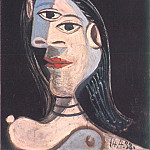 Pablo Picasso (1881-1973) Period of creation: 1931-1942 - 1938 Buste de femme (Dora Maar)