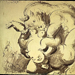 Pablo Picasso (1881-1973) Period of creation: 1931-1942 - 1933 Minotaure et nu (Le viol)