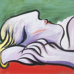 1932 Le repos1, Pablo Picasso (1881-1973) Period of creation: 1931-1942