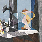 1937 Nature morte 3, Pablo Picasso (1881-1973) Period of creation: 1931-1942