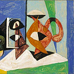 1937 Nature morte 2, Pablo Picasso (1881-1973) Period of creation: 1931-1942