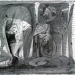 1938 Trois femmes, Pablo Picasso (1881-1973) Period of creation: 1931-1942
