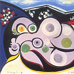 Pablo Picasso (1881-1973) Period of creation: 1931-1942 - 1932 Nu couchВ (Marie-ThВrКse)