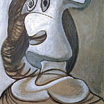 1941 TИte de femme, Pablo Picasso (1881-1973) Period of creation: 1931-1942