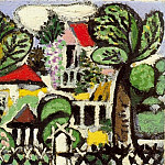 Pablo Picasso (1881-1973) Period of creation: 1931-1942 - 1933 Paysage1