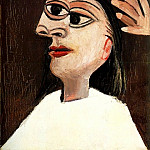 Pablo Picasso (1881-1973) Period of creation: 1931-1942 - 1938 La coiffure